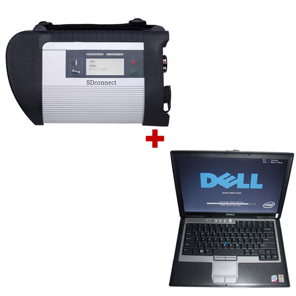 MB-SD-C4-Star-diagnosis-and-Dell-D630