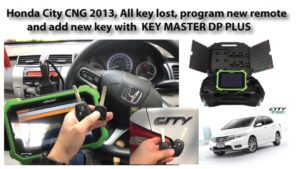 How-to-use-OBDSTAR-DP-PLus-to-program-Honda-City-CNG-2013-all-keys-lost-1