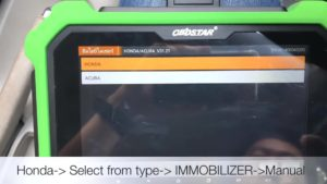 How-to-use-OBDSTAR-DP-PLus-to-program-Honda-City-CNG-2013-all-keys-lost-6